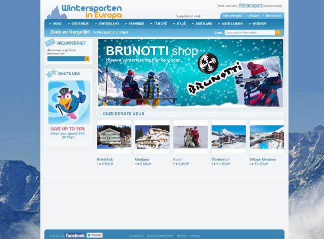 Wintersporten in Europa